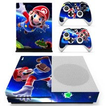 Super Mario Galaxy 2decal xbox one S console and 2 controllers - $15.00