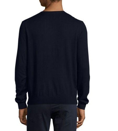 Vince Featherweight Crewneck Sweater, Coastal Blue Neiman Marcus Size XL