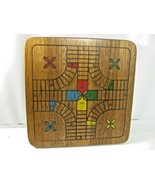 Pachisi Board Game / Backgammon 1988 VINTAGE WOOD Cardinal Industries, Inc - $24.99