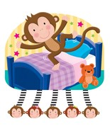 Jiggle & Discover with Sound - Five Little Monkeys - $43.99