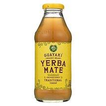Guayaki Organic Yerba Mate Unsweetened -- 16 fl oz - $52.82