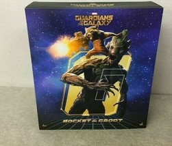 HOT TOYS Movie Masterpiece Figure MARVEL GUARDIANS OF THE GALAXY GROOT &... - $717.75