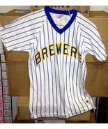 Vintage 1980s Brewers T-Shirt Adult Small Like New w/ Tag Rawlings - $8.69