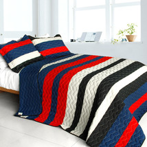 [Indescribable Night] 3PC Quilt Set(Full/Queen Size) - $99.89