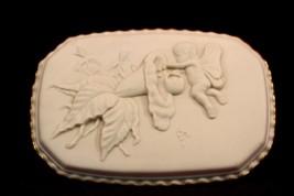 Lenox Trinket Box Ivory Kate Sears Embossed Pattern - $64.35