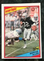 1984 Topps Football ~ MARCUS ALLEN #99 ~ Instant Replay - $1.93