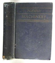 1941 vintage NAVAL MACHINERY boilers,turbines,reciprocating engines,auxi... - $67.95