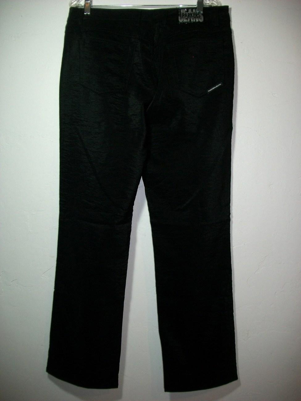 WOMEN PARKERS SIZE 21/22  BLACK DRESS JEANS PLUS  LIKE 1X NEW