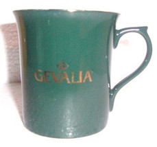 Gevalia Kaffe Ceramic Green In Color Collectible Coffee Mug - $12.99