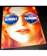 2000 Cameron Crowe Movie ALMOST FAMOUS Press Kit PRODUCTION INFO BOOKLET - $15.99
