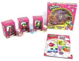 Shopkins Pop Race Limited Edition Board Game 9pc Collection Bundle Gift Set - $79.95