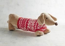 Plush Dachshund in Alpine Sweater - $30.00