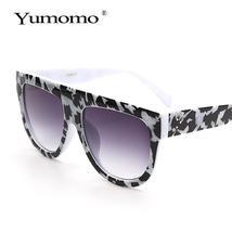 new square sunglasses ladies brand designer retro marble color fashion sunglasse image 4