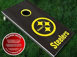 Pittsburgh Steelers Cornhole Decals | Three (3) Vinyl Decals for Board B... - $15.00