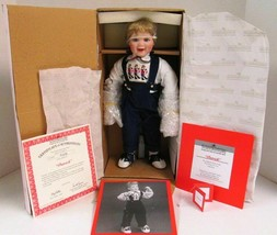 Aston Drake Patrick Vintage Doll  Christmas - $32.17