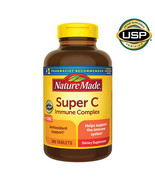 NEW Nature Made Super C Immune Complex, 200 Tablets **FREE SHIPPING** - $26.49