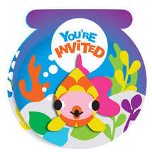 French Bull Ocean Invitation with Attachment, Case of 120 - £76.92 GBP