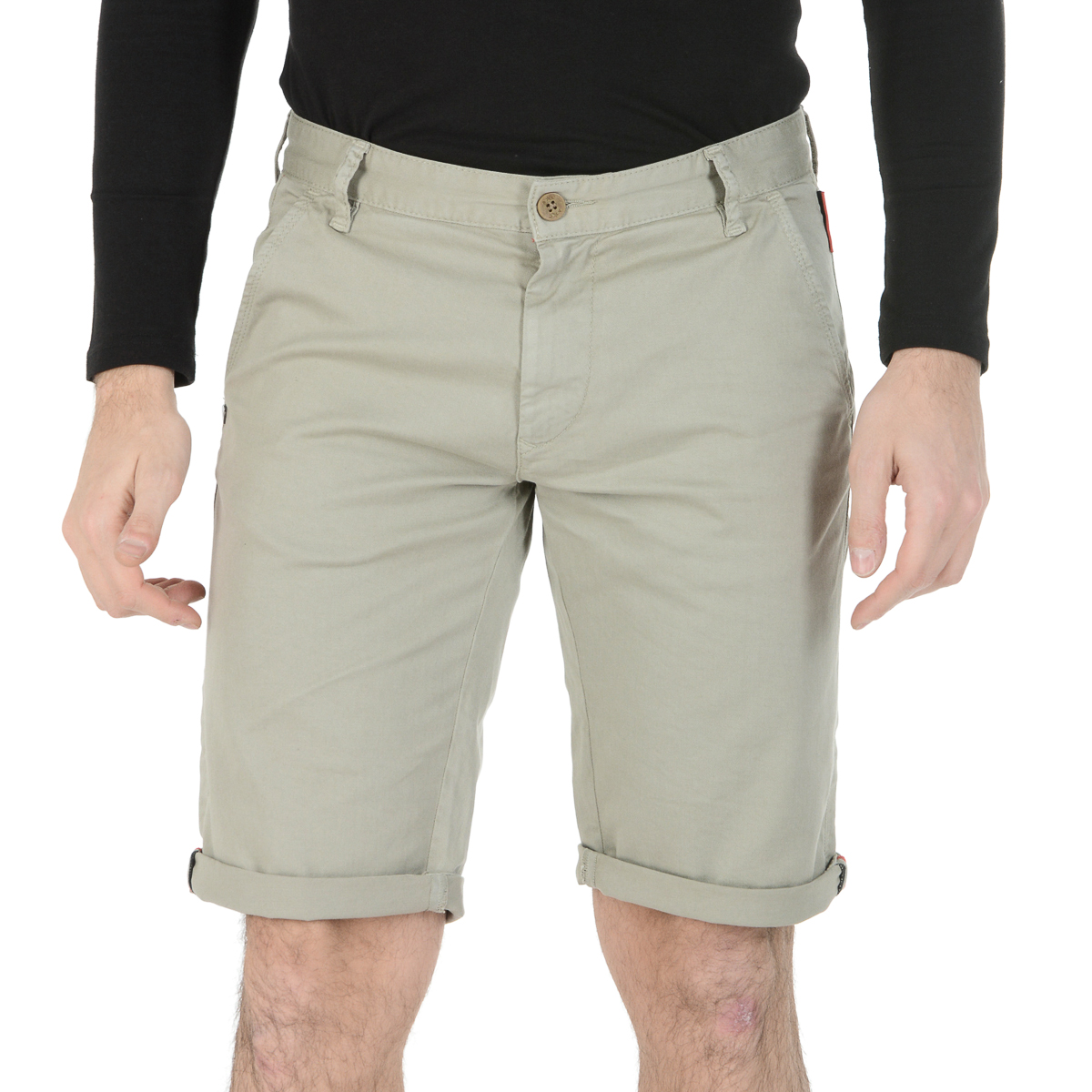 Primary image for Andrew Charles Mens Shorts Taupe SADECK