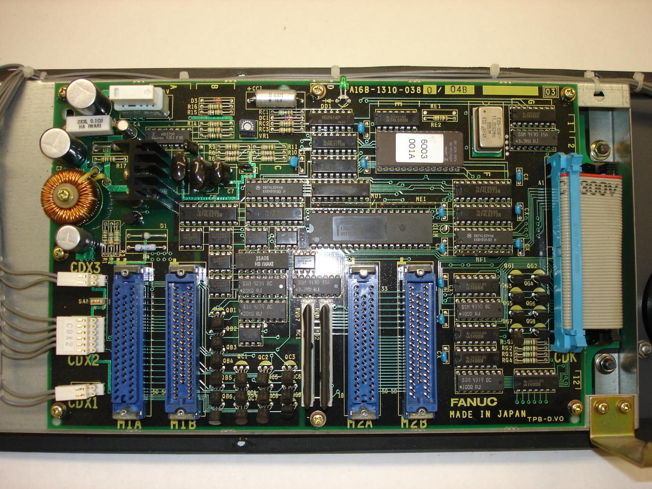 Fanuc Operation Panel A02B-0092-C161