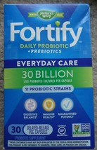 Nature's Way Fortify Daily Probiotic - 30 Billion - 30 Capsules Exp: 06/... - $15.79