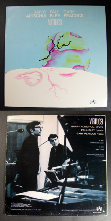 PAUL BLEY ALTSCHUL GARY PEACOCK Virtuosi INNER CITY LP