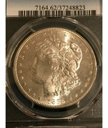 1885-S Morgan Silver Dollar  PCGS MS-62  Great Luster - $287.10