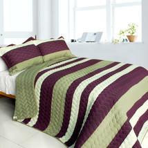 [September Affair] 3PC Patchwork Quilt Set (Full/Queen Size) - $99.89