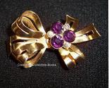 Coro ribbon brooch thumb155 crop