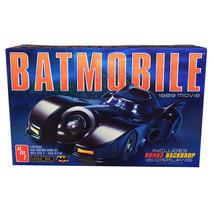 Skill 2 Model Kit Batmobile Batman (1989) Movie with Backdrop Display 1/... - $39.62
