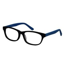 EBE Unisex Wooder Black Blue Retro Style Regular Hinge Reading Glasses - $16.30+
