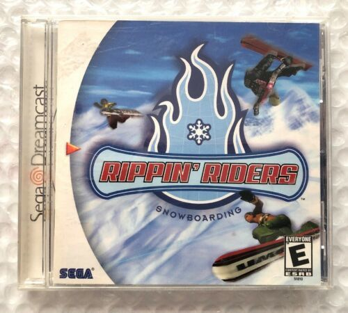 ☆ Rippin' Riders Snowboarding (Sega Dreamcast 1999) COMPLETE in Case Game Works☆