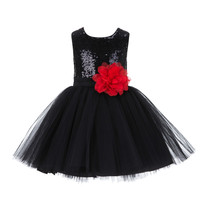 Sparkling Sequins Tulle Flower Girl Dress BridesmaidWedding Pageant East... - $39.99