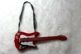 Bratz Barbie Doll Red & Silver Guitar Rose Detail With Strap Jade Yasmin... - $19.79