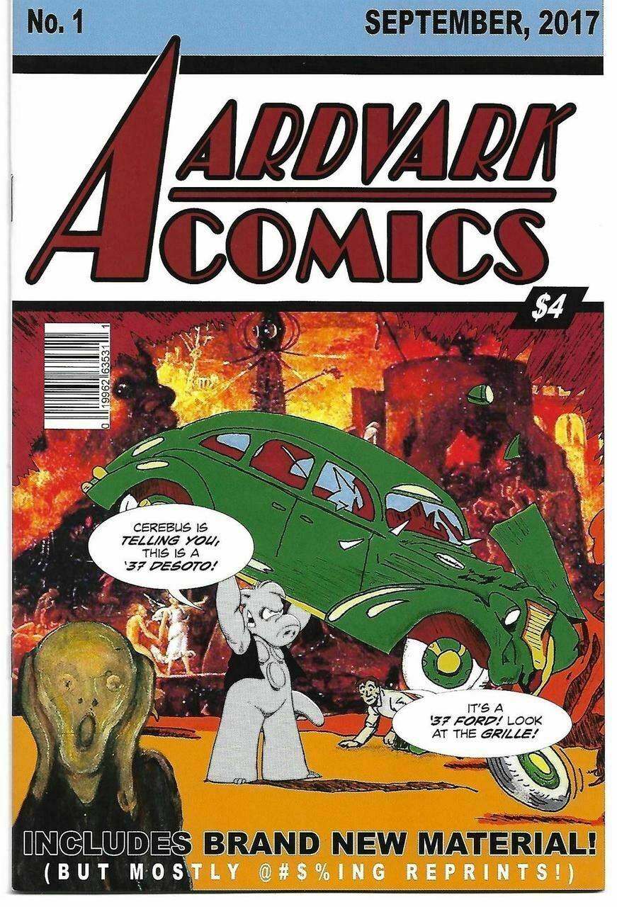 AARDVARK COMICS #1 (OF 1) (AARDVARK VANAHEIM 2017) - $3.44