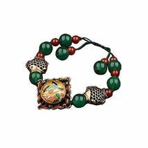Jewelry Ethnic Handmade Bracelets Agate Bracelet Retro Chinese Style Woven