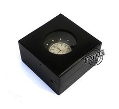 Christmas Desk Wood Clocks Shelf Mantel Bar Tabletop Clock Antique Decor Nautica - $29.54