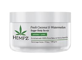 Hempz Coconut & Watermelon Sugar Scrub, 7.3OZ
