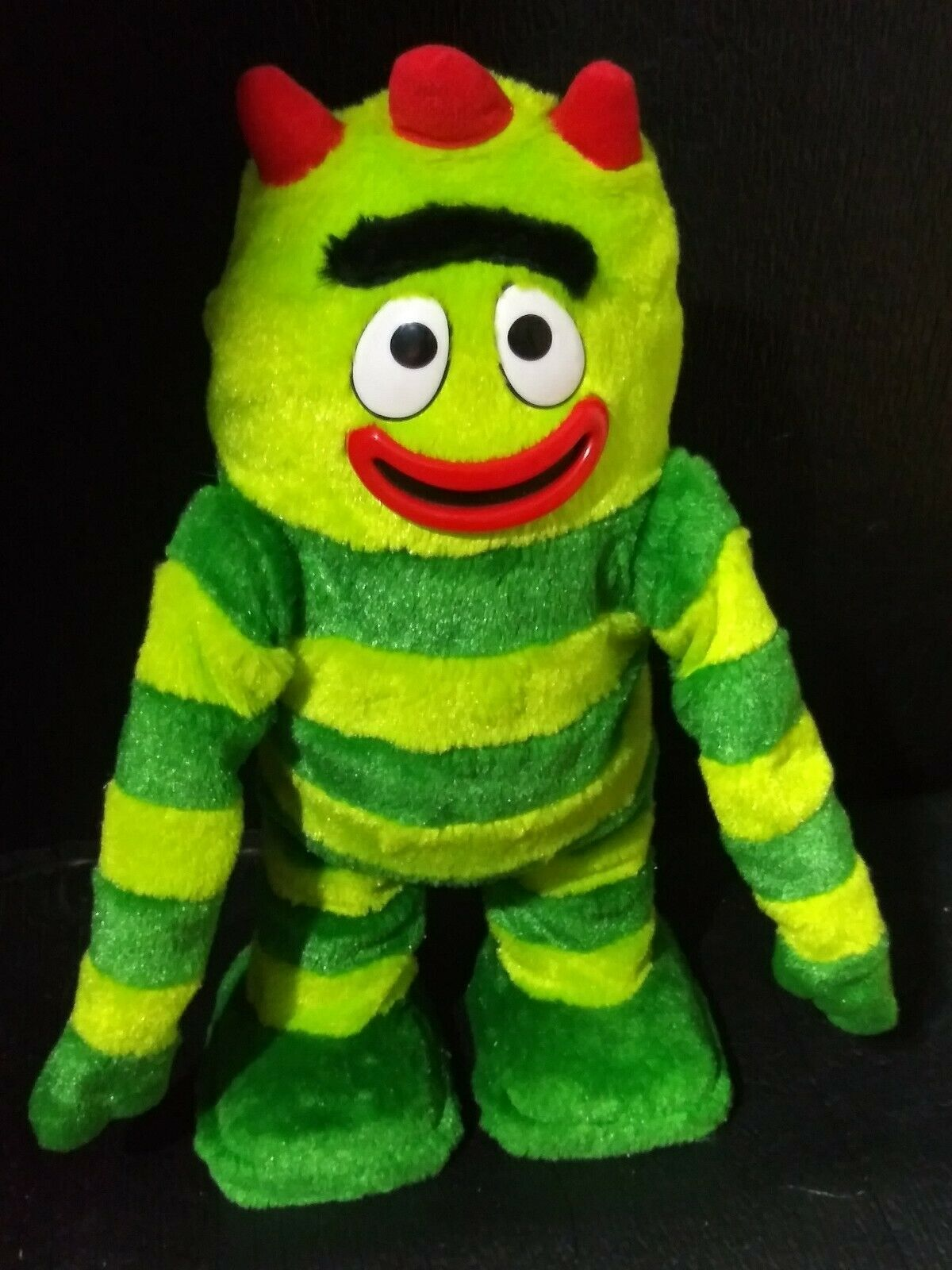 New YO GABBA GABBA Brobee Light-Up Plush Toy NIB Stuffed Animal