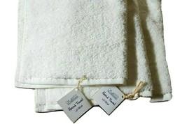 "Nefertari ORGANIC BATH TOWEL Size 11""x11"" Made with 100% Egyptian Natura... - $15.99+"