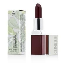Clinique Pop Lip Colour + Primer - # 08 Cherry Pop  - $40.00