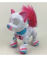 Fancy Zoomers Meowzies Cat White Robot Toy Girl's Spin Master 2016 - $20.44