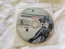 Madden Nfl 07 Microsoft Xbox 360 - Game Disc Only - $4.95