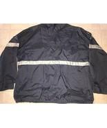 American Eagle ~ Vtg Men's Navy Blue Thin Jacket Windbreaker Pullover Pl... - $21.03