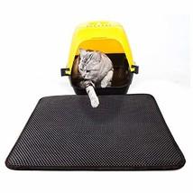 "Petneces Cat Litter Mat Litter Trapping 21""x 30"" Double Layer Waterproof... - $38.68"