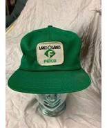 trucker hat baseball cap Vintage Snapback Patch Land O Lakes Felco Milk ... - $49.99