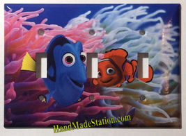 Finding Nemo & Dory Light Switch Power Outlet Wall Cover Plate Home decor image 4