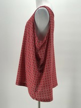 Old Navy Women's Red Printed Scoop Neck Sleeveless Blouse Size XXL - $14.85