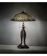 Tiffany Style Green Fishscale Table Lamp - $1,214.73