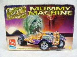 Amt Monster Rods Mummy Machine Glow In The Dark Car Model Kit - $24.74