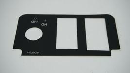Schlüssel Schalter Aufkleber With 3 Aussparungen für Txt Golfwagen 2000+ - $22.11